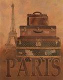 Reisen – Paris Kunstdrucke von T. C. Chiu