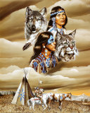 Spirit of the Tribe Affiches par Gary Ampel