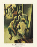 The Crapshooters Print by Thomas Hart Benton