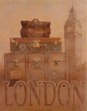Travel, London Posters by T. C. Chiu