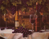 Insignia Wine II Poster by T. C. Chiu