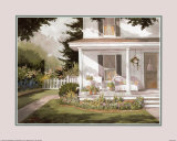 Plants on Open Porch Prints by Steve Zazenski