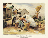The Cotton Pickers Poster by Thomas Hart Benton