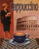Cappuccino, Roma Posters by T. C. Chiu