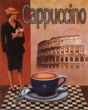 Cappuccino, Roma Print by T. C. Chiu