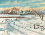 Winter Scene I Prints by Ron Jenkins