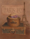 Paris, 1920 Posters by T. C. Chiu
