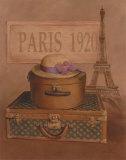 Paris, 1920 Posters by T. C. Chiu