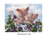 Schweineglück Kunstdrucke