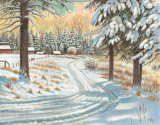 Winter Scene III Prints by Ron Jenkins