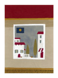 Hilltop Village Prints by Muriel Verger