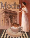 Mocha, Arch de Triomphe Prints by T. C. Chiu