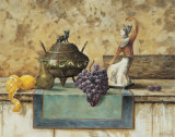 Still Life with Grapes Posters by Francis Mastrangelo