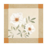 Magnolia Tile II Poster by Muriel Verger