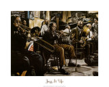 Jazz Band Prints by Gregory Myrick