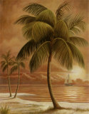Island Palm I Prints by Ron Jenkins
