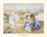 Calla Lily Gatherers Poster by  Laforet