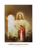 Christ Showing the Way Art by Myung Bo
