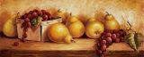 Panel de fruta I Láminas por Peggy Thatch Sibley