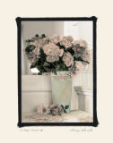 Vintage Flowers IV, Floral Vase Prints by Sharyn Sakimoto