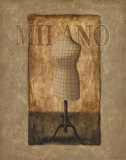 Fashion, Milano Art by T. C. Chiu