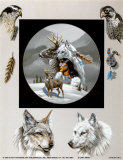 Born Hunters Prints by Gary Ampel