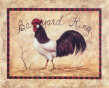 Barnyard King Art by Peggy Thatch Sibley