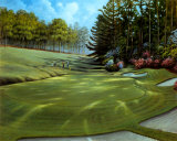 Azalea Hole Golf Course Print