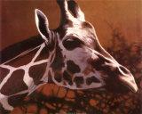 Giraffe Grande Prints by T. C. Chiu