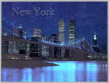 New York, Brooklyn Bridge Prints