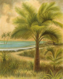 Island Palm II Print by Ron Jenkins