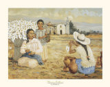 Flower Sellers Prints by  Laforet