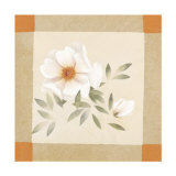 Magnolia Tile I Poster by Muriel Verger