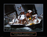 Motivational - Working Together Psters