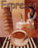 Espresso, Pisa Prints by T. C. Chiu