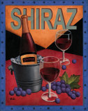 Shiraz Posters by T. C. Chiu