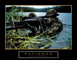 Patience, Soldier Poster