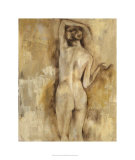 Nude Figure Study V Limited Edition by Jennifer Goldberger