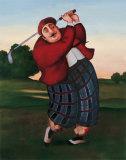Golf Fore Kunstdrucke von T. C. Chiu