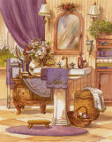 Victorian Bathroom II Art by Jerianne Van Dijk