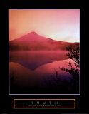 Truth: Misty Mountain Posters