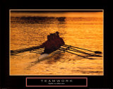 Teamwork: Rowers Prints
