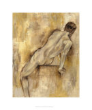 Nude Figure Study VI Limited Edition by Jennifer Goldberger