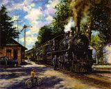 Tren de la mañana Póster por Xaras