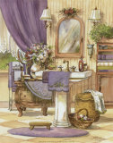 Victorian Bathroom II Posters by Jerianne Van Dijk