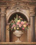 Floral Arch I Kunstdrucke von T. C. Chiu