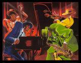Mood 4 Jazz Kunst af Steven Johnson
