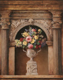 Floral Arch II Print by T. C. Chiu