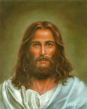 Head of Christ Poster van Ron Marsh