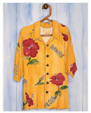 Hawaiian Shirt, Hibiscus Posters by Mary Spears